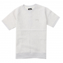 스투시() [스투시] STUSSY STOCK RAGLAN S/SL CREW (WHITE HEATHER) [118224-WHTH]