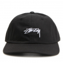 스투시() [스투시] STUSSY SMOOTH STOCK LOW CAP (BLACK) [131718-BLAC]