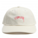 스투시() [스투시] STUSSY SMOOTH STOCK LOW CAP (CREAM) [131718-CREAM]