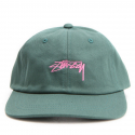 스투시() [스투시] STUSSY SMOOTH STOCK LOW CAP (GREEN) [131718-GREN]