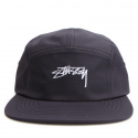 스투시() [스투시] STUSSY SMOOTH STOCK CAMP CAP (NAVY) [132838-NAVY]