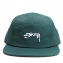 스투시() [스투시] STUSSY SMOOTH STOCK CAMP CAP (TEAL) [132838-TEAL]