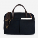 Vintage Brief Bag Super Oxford_Navy