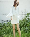 러브미백(LOVE ME BACK) LINEN PUFF JACKET
