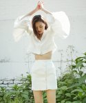 러브미백(LOVE ME BACK) LINEN 25 SKIRT