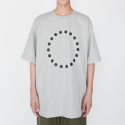 로우 투 로우(RAW TO RAW) SYMBOL SHORT SLEEVE TEE(GREY)