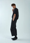 아무 코리아(AMU KOREA) BACK SLIT JUMP SUIT(BLACK입고완료)