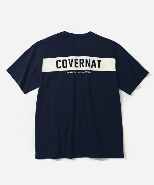 커버낫_S/S TEAM T-SHIRTS NAVY