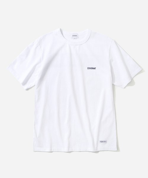 커버낫_S/S TEAM T-SHIRTS WHITE