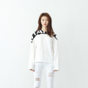 에스알에스티(SRST) STANDS long sleeve shirts WHITE