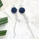 루어스트(LURE.ST) [never ending summer 010] blue mix+glass earrings
