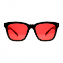 애쉬크로프트(ASHCROFT) Paranoid - 01 Red tint Sunglasses
