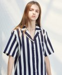 언에디트(ANEDIT) D STRIPE SHIRTS_WH