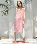 언에디트(ANEDIT) D STRIPE SLIP DRESS_RD