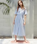 언에디트(ANEDIT) D STRIPE SHIRTS DRESS_SB