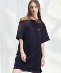 언에디트(ANEDIT) D TSHIRTS DRESS_BK