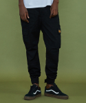 [XTONZ] XP12 Velcro Cargo Pants - Black