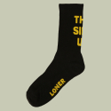 로너(LONER) [로너] THIS SIDE UP SOCKS-BLACK