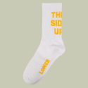 로너(LONER) [로너] THIS SIDE UP SOCKS-WHITE