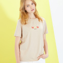룩캐스트(LOOKAST) BEIGE MADRID AIRPORT TSHIRT