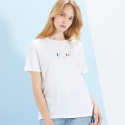 룩캐스트(LOOKAST) WHITE PARIS AIRPORT TSHIRT