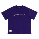 주스토(JUSTO) SIGNATURE OVER T-SHIRTS[PURPLE]