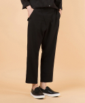 POLINEN DEVIANT TROUSER (diagonal zipper wide & tapered)