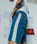 블라드블라디스(VLADVLADES) VLADVLADES 2/1 Ring pants Denim/White
