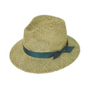 mesh safari panama hat (6 ribbon color)
