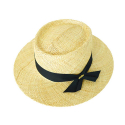 bao porkpie hat (2 ribbon color)