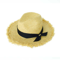 vintage fedora hat (2 ribbon color)