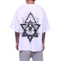 페이드6(FADE6) EYE BOXY T-SHIRT WHITE