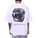 페이드6(FADE6) SKULL GHOST BOXY T-SHIRT WHITE