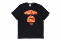 베이프(BAPE) AAPE ORANGE CAMO INJECTION
