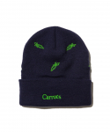 CARROTS BY ANWAR / ALL OVER CARROT BEANIE / NAVY BLUE