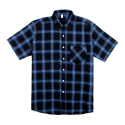 굿펠라즈(GOODFELLAS) GF Check Shirt Navy