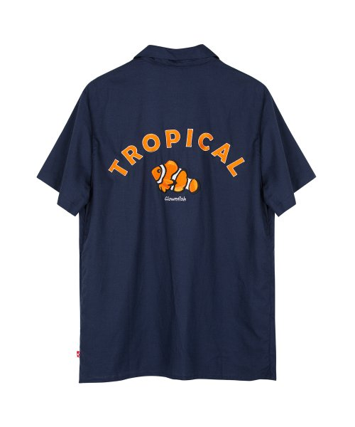 모티브스트릿_TROPICAL OPEN SHIRTS