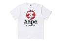 AAPE OG MOONFACE BASIC TEE