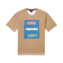 제너럴 아이디어(GENERAL IDEA) G6d05074 - Two Paintings T-Shirts [Beige]