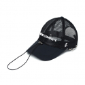 ZDC ANTI WAVE BALLCAP BLACK