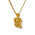 디자인바이티에스에스(Design By TSS) Design By TSS MINI JESUS CNC NECKLACE -  GOLD