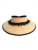 화이트샌즈(WHITESANDS) 화이트샌즈 RAFFIA NICERO HAT NATURAL WS17-003NR