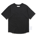 Oversized fitLH2WTS19BK Black Back incision width artworks tee