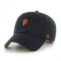 47브랜드(47 BRAND) [47brand] SAN FRANCISCO GIANTS BLACK ABATE 47 CLEAN UP/MLB모자