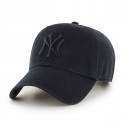 [47brand] NEW YORK YANKEES BLACK 47 CLEAN UP/MLB모자