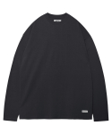 모디파이드() M#1378 pure cotton long sleeve tee (black)
