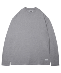 모디파이드() M#1375 pure cotton long sleeve tee (grey)