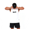 SLEEVELESS BOX - WHITE