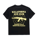플라잉 나인티(FLYING NINETY) FNTY Killerfornia gun oversize T-shirt (스나이퍼 티셔츠) BLACK