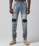 테이크이지(TAKEASY) VINTAGE WASH X-Y PAINTED SELVEDGE DENIM